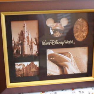 ディズニー(Disney)の新品未開封 USディズニーランド 写真フォトフレーム(フォトフレーム)