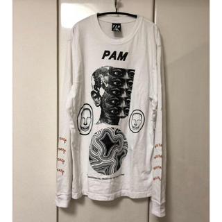 パム(P.A.M.)のPAM パム プリントロンT ホワイト(Tシャツ/カットソー(七分/長袖))
