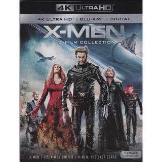X-MEN:1,2,ファイナル ディシジョン (4K Ultra HD)(外国映画)