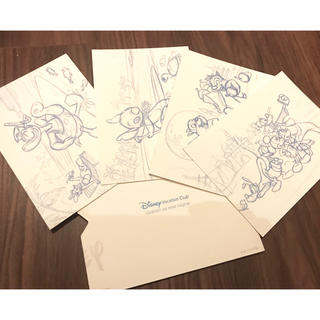 Disney - USディズニー ディズニーバケーションクラブ ハガキ4枚セット