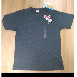 ディズニー(Disney)の新品 ミッキー Tシャツ グレー クラシカル スケボーミッキー ディズニー(Tシャツ/カットソー(半袖/袖なし))