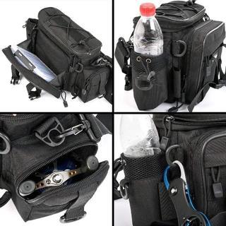 多機能 釣り袋 3WAY 釣りバッグ フィッシングバッグ 大容量 1000D防水(ウエア)