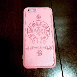 Iphone 7/8 スマホケース 人気のタイプクロムハーツ【ピンク】(iPhoneケース)