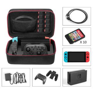 Nintendo Switch ケース- Younik高品質収納バッグ 大容量 (ウエア)
