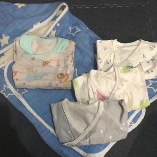 コンビミニ(Combi mini)のコンビミニset 新生児肌着(肌着/下着)