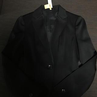 アナイ(ANAYI)のアナイ  ジャケット 黒 36 美品(テーラードジャケット)