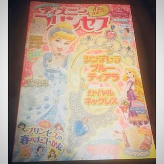 ディズニー(Disney)のディズニープリンセス 2015 4月号(アート/エンタメ/ホビー)