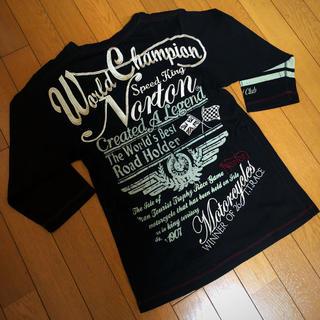 ノートン(Norton)の【格安特価‼︎】Norton全刺繍七分Tシャツ(Tシャツ/カットソー(七分/長袖))
