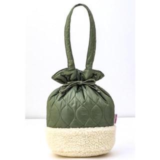 チャイルドウーマン(CHILD WOMAN)の美品❤️チャイルドウーマン ボアキルティングbag (ショルダーバッグ)