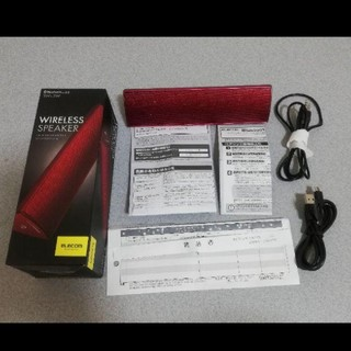 エレコム(ELECOM)のエレコム Bluetooth ワイヤレス スピーカー LBT- SPP310AV(スピーカー)