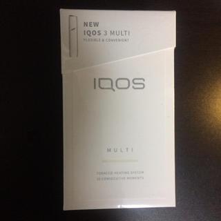 アイコス(IQOS)のアイコスマルチアイコス3 ウォームホワイト 新品未開封!(タバコグッズ)