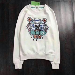 KENZOケンゾー 刺繍トレーナー 男女兼用タイガ