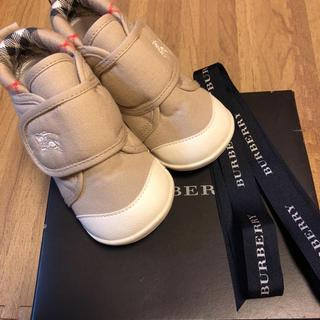 バーバリー(BURBERRY)のバーバリー 靴 美品(スニーカー)
