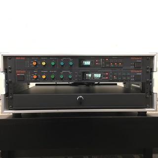 デジタルディレイ、スライディングシェルフ、アルモア4Uラックケースの4点セット(エフェクター)