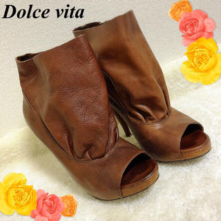 ドルチェビータ(Dolce Vita)のドルチェビータの柔らかな本革ブーツの様なパンプス(ブーツ)
