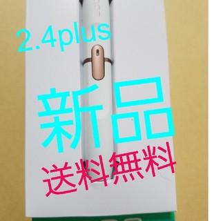アイコス(IQOS)のアイコスホルダー  新品 2.4plus ホワイト(タバコグッズ)