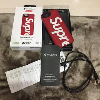 シュプリーム(Supreme)のシュプリーム iPhone8充電付きカバー ジャンク品(iPhoneケース)
