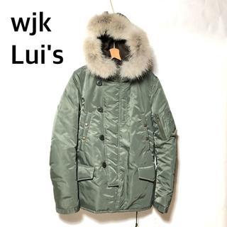 ダブルジェーケー(wjk)のLui's×wjk N-3B コヨーテファーモッズコート M/ダブルジェイケイ(モッズコート)