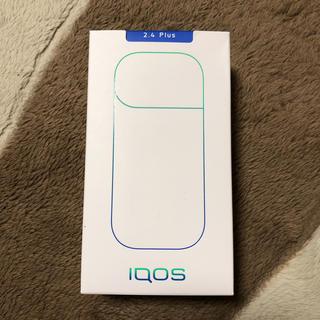 アイコス(IQOS)の新品未使用未開封iQOS2.4plusポケットチャージャーホワイト(タバコグッズ)
