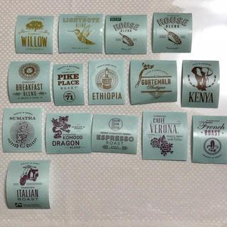 スターバックス コーヒー 珈琲 豆 シール コア 全種類 パスポート用(ノベルティグッズ)