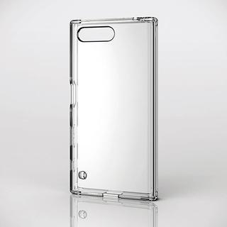 エレコム(ELECOM)のXperia X Compact SO-02J用ハイブリッドケース クリア (Androidケース)