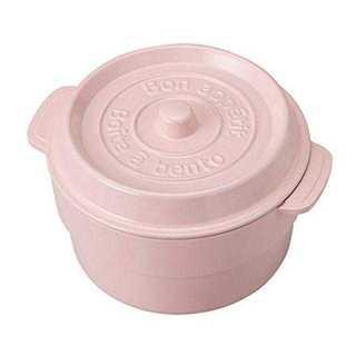 ☆食洗機対応☆ お弁当箱  ピンク レンジOK (弁当用品)