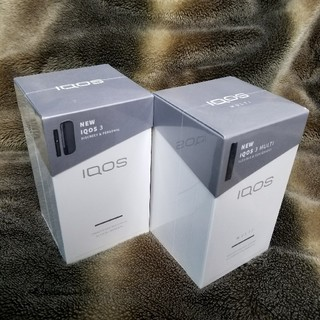 アイコス(IQOS)の新品未開封 アイコス3 アイコス3マルチ グレー IQOS3 MULTI  (タバコグッズ)