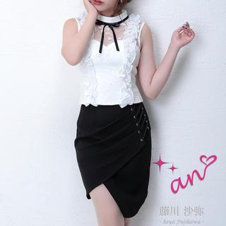 アン(an)のan ドレス 美品 セットアップ(ナイトドレス)