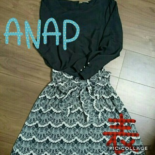 アナップ(ANAP)のANAP ワンピース F(ひざ丈ワンピース)