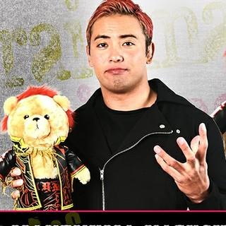 タカラトミーアーツ(T-ARTS)の新日本プロレス マネくま オカダ・カズチカ(2nd model)(格闘技/プロレス)