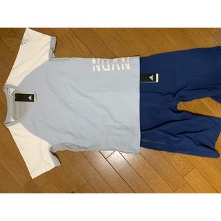 アディダス(adidas)のアディダス シャツ+パンツ セット(ウェア)