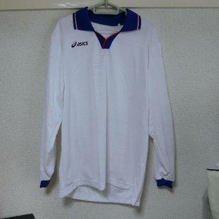 アシックス(asics)のサッカー 長袖ゲームシャツ サイズL(ウェア)