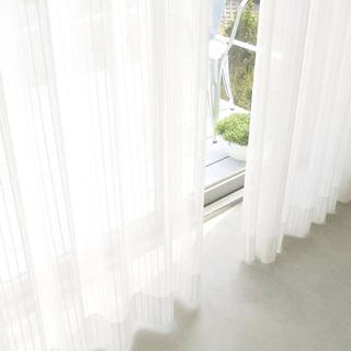 ☆夜も透けにくいミラーレース UVカット ミラーカーテン(カーテン)