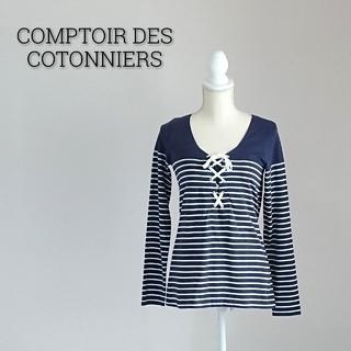 コントワーデコトニエ(Comptoir des cotonniers)のCOMPTOIR DES COTONNIERS コントワーデコトニエ カットソー(カットソー(長袖/七分))