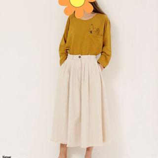 ダブルネーム(DOUBLE NAME)の新品♡ダブルネーム★スカート★ストライプ(ひざ丈スカート)