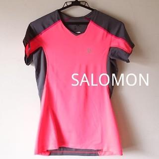 サロモン(SALOMON)の最終値下げ❗SALOMON サロモン  レディース ランニング Tシャツ (ウェア)