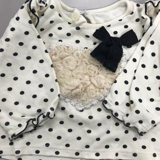 ニシキベビー(Nishiki Baby)のチャックルベビー90サイズフェミニンスイートガール(Tシャツ/カットソー)
