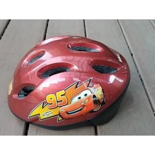 ディズニー(Disney)のDisneyカーズ自転車ヘルメット 子供用 レッド47~52センチ 2歳~4歳 (その他)