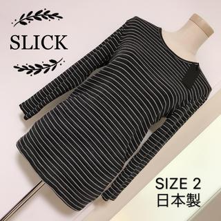 スリック(SLICK)のSLICK カットソー(Tシャツ/カットソー(七分/長袖))