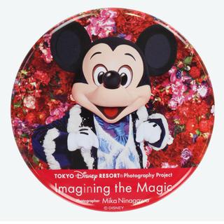 ディズニー(Disney)のイマジニングザマジック ミッキー 缶バッジ ディズニーリゾート(キャラクターグッズ)