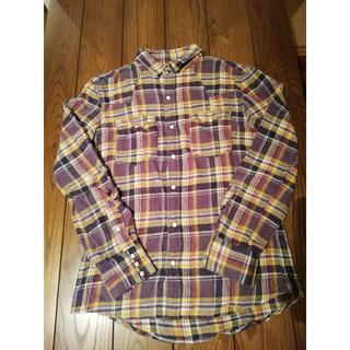 エディフィス(EDIFICE)のチェックネルシャツ(シャツ)