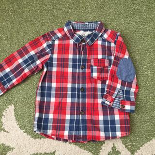 エイチアンドエイチ(H&H)のH&M チェックシャツ 74 6-9M(シャツ/カットソー)