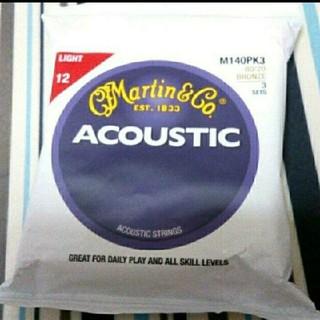 Martin アコースティックギター弦M140PK3(弦)