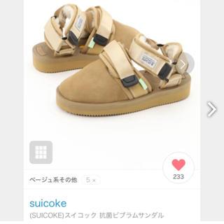 スイコック(suicoke)のスイコック(スリッポン/モカシン)