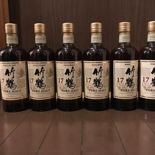 ニッカウイスキー(ニッカウヰスキー)の竹鶴17年6本(ウイスキー)
