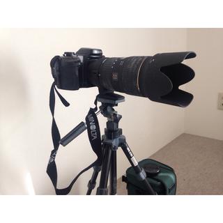 コニカミノルタ(KONICA MINOLTA)のフィルムカメラの最終モデルの本体、レンズの一つです。(フィルムカメラ)