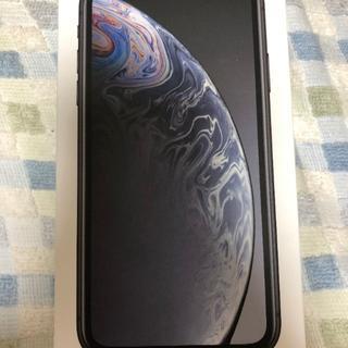 Apple - 【新品未使用】iPhoneXR 64GB ブラック SIMフリー【送料無料】