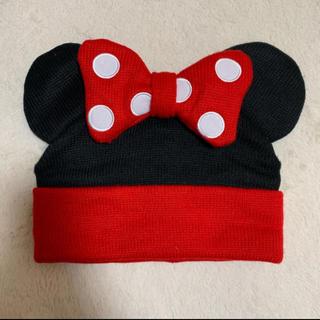 ディズニー(Disney)のミニー♡ニット帽(カチューシャ)