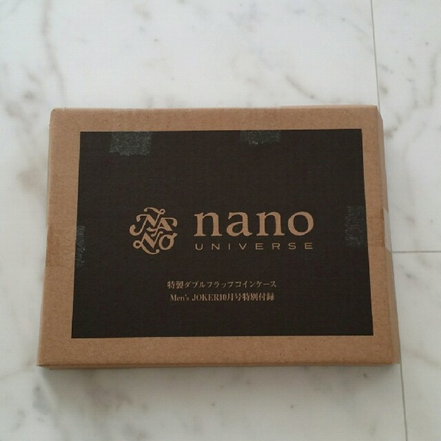 nano・universe(ナノユニバース)のnano UNIVERSE  メンズのファッション小物(コインケース/小銭入れ)の商品写真