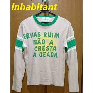 インハビダント(inhabitant)の☆inhabitant  インハビタント  ロングTシャツ SUN【XXS】(Tシャツ(長袖/七分))